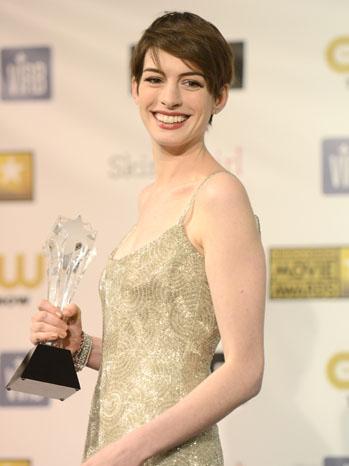 Critics' Choice Anne Hathaway - P 2013