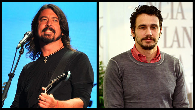 Dave Grohl James Franco - H 2012