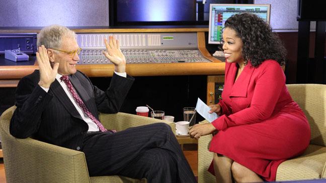 David Letterman Oprah's Next Chapter - H 2012