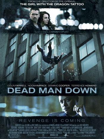 Dead Man Down one sheet - P 2013