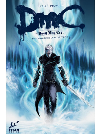 DmC Devil May Cry The Vergil Chronicles Comic #1 Cover - P 2013