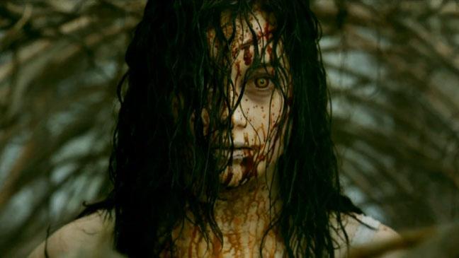 Evil Dead Trailer Screengrab - H 2013