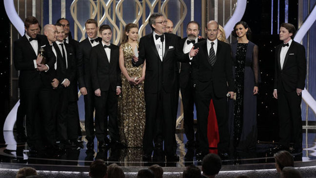 Golden Globes Homeland Cast Award - H 2013