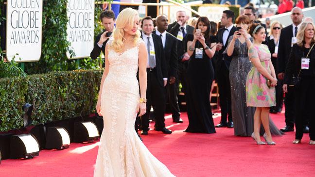 Golden Globes Red Carpet Overview Francesca Eastwood - H 2013