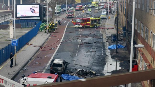 London Helicopter crash - H 2013