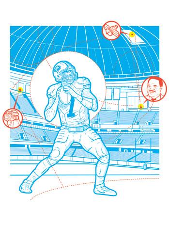 Issue 5 FEA Superbowl Illustration - P 2013