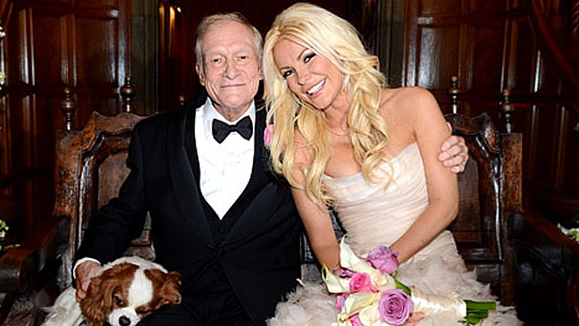 Hugh Hefner Crystal Harris - H 2012