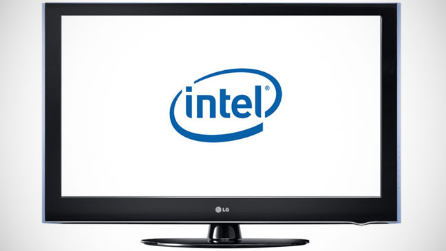 Intel TV Logo - H 2012