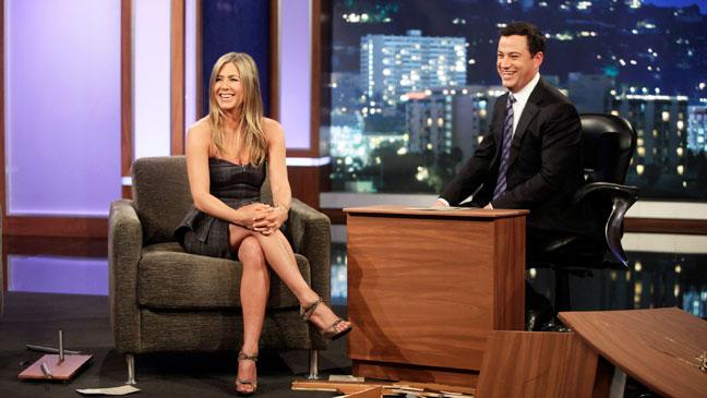Jimmy Kimmel Live! with Jennifer Aniston - H 2013