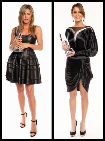 Jennifer Aniston Jennifer Lawrence People's Choice Split - P 2013