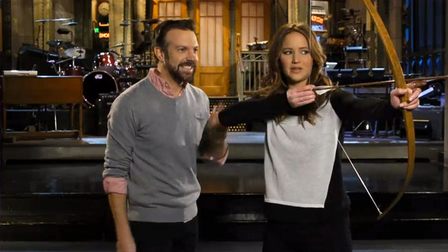 Jennifer Lawrence Hosting SNL - H 2013