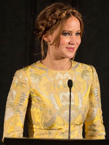 Jennifer Lawrence LA Film Awards - P 2012