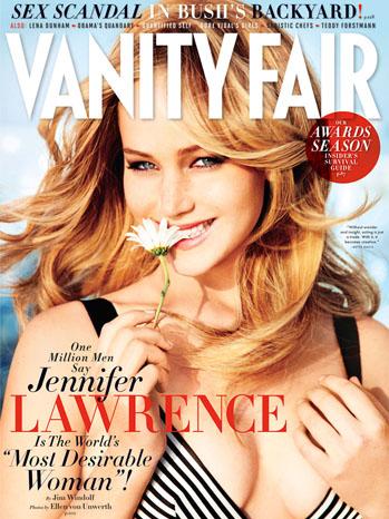 Jennifer Lawrence Vanity Fair Cover - P 2012