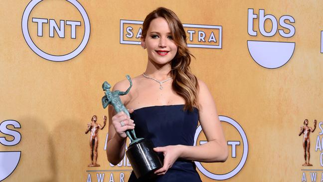 Jennifer Lawrence SAG Awards - H 2013