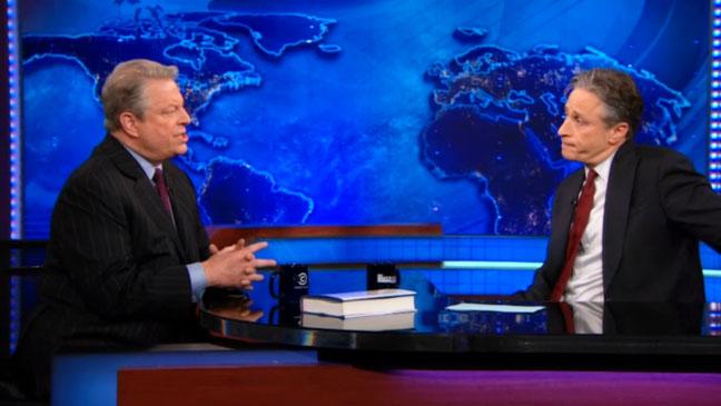 The Daily Show Jon Stewart Al Gore - H 2012