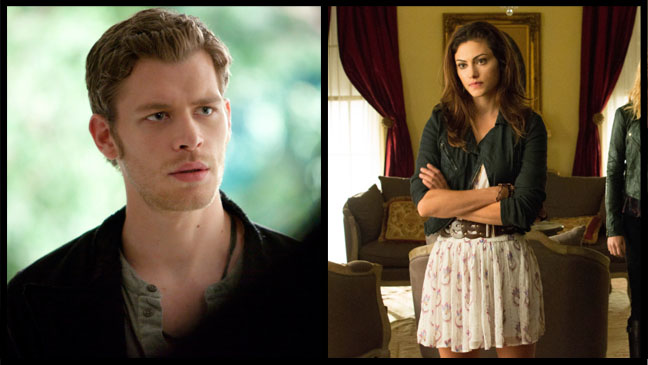 The Vampire Diaries Joseph Morgan Phoebe Tonkin Split - H 2013