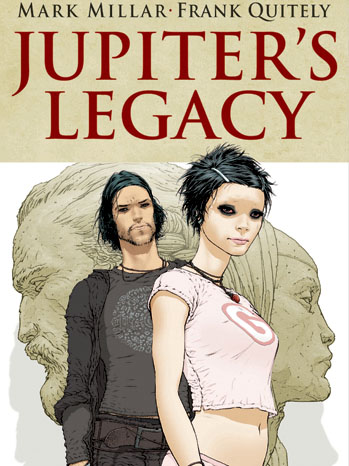 Jupiter's Legacy Issue 1 Cover - P 2013