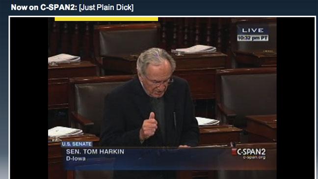 Just Plain Dick CSPAN Screengrab - H 2012