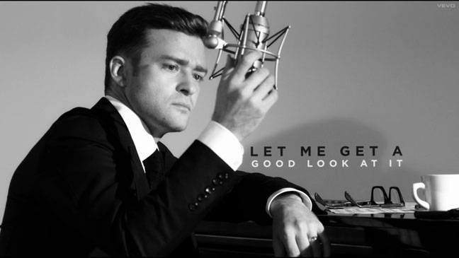 Justin Timberlake Suit & Tie Tom Ford Video - H 2013