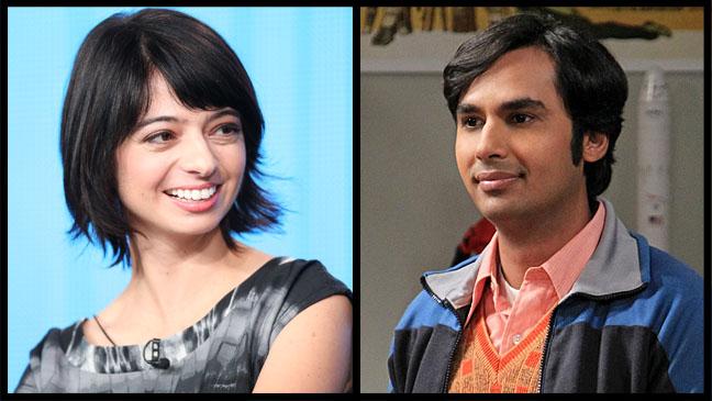 Kate Micucci Kunal Nayyar Big Bang Theory - H 2013