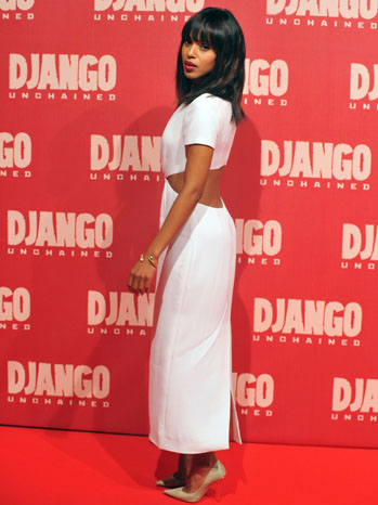 Kerry Washington Django Premiere - P 2012