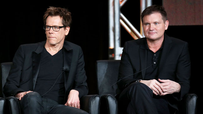Kevin Bacon Kevin Williamson The Following TCA Winter - H 2013