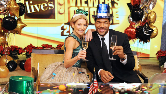 Live! With Kelly and Michael New Years - H 2013