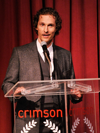 Matthew McConaughey New York Film Critics Circle - P 2013