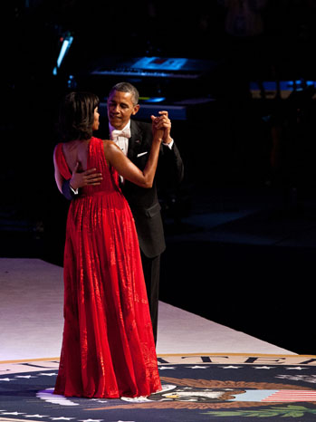 Michelle Obama Inaugural Gown - P 2012