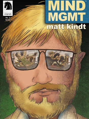 MIND MGMT Comic Cover - P 2013