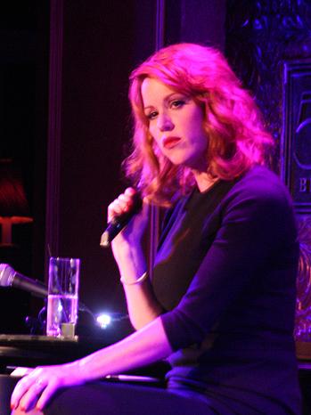 Molly Ringwald cabaret live P