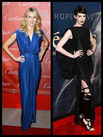 Naomi Watts Anne Hathaway Split - P 2013