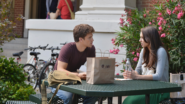 Pretty Little Liars Keegan Allen Troian Bellisario 1/8 Still - H 2013