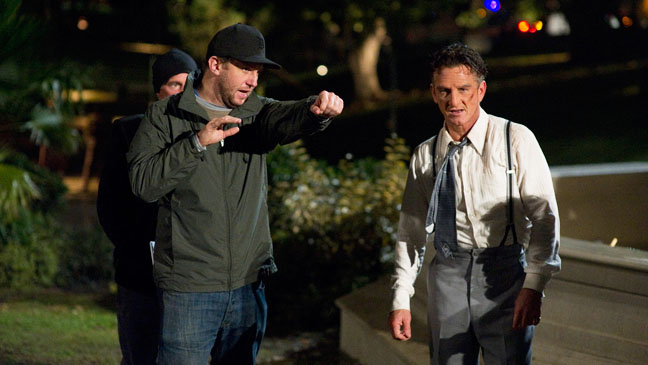 Ruben Flesicher Directing Penn Gangster Squad - H 2013
