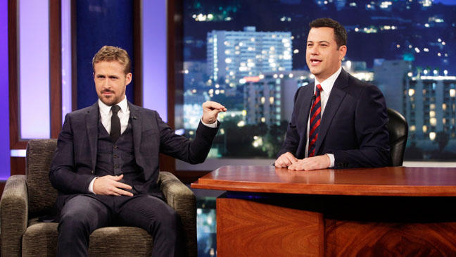 Jimmy Kimmel Live! with Ryan Gosling - H 2013