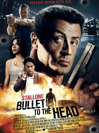 Bullet to the Head one sheet - P 2013