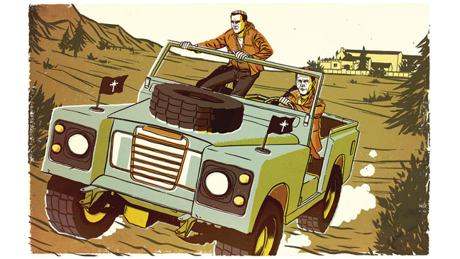 Seduction of Tom Cruise Illustration – H 2013
