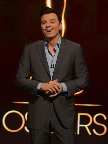 Seth MacFarlane Oscars - P 2012