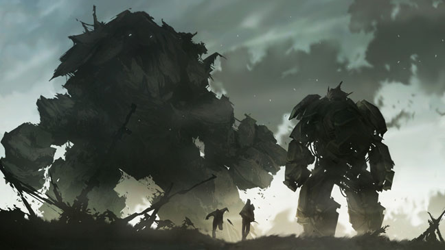 Shadow of Colossus Video Game Screen Grab - H 2012