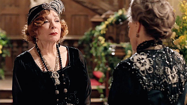 Shirley MacLaine in Downton Abbey - H 2012