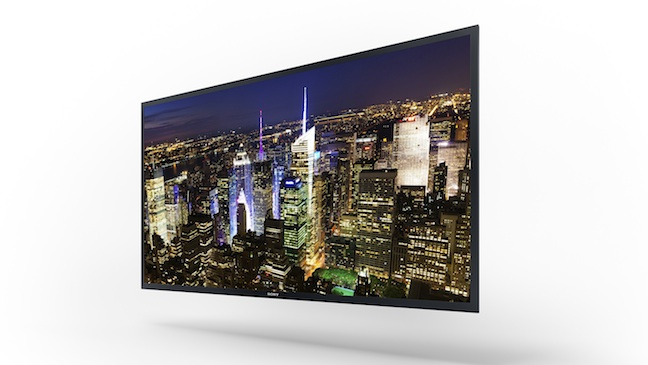 Sony 56 inch 4K OLED TV CES H 2013