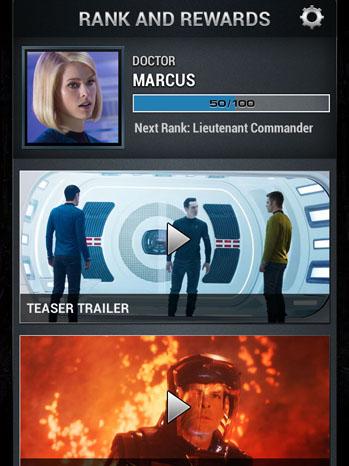 Star Trek App Screen Shot - P 2013