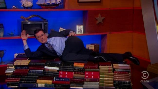 Stephen Colbert Inauguration - H 2013