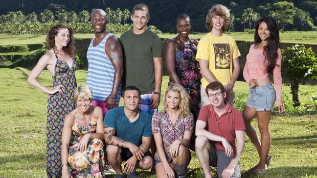 Survivor: Fans Vs. Favorites FAVORITES Cast - H 2013