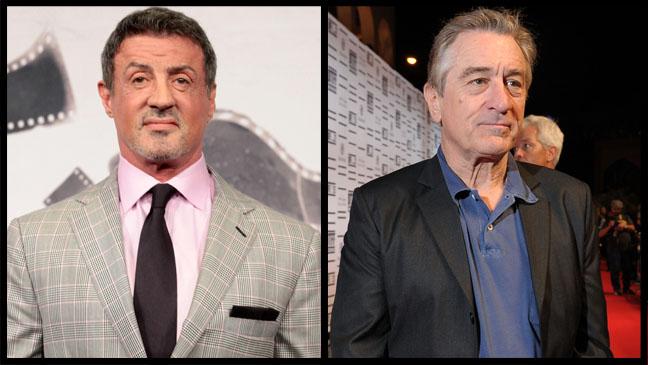 Sylvester Stallone Robert De Niro - H 2012