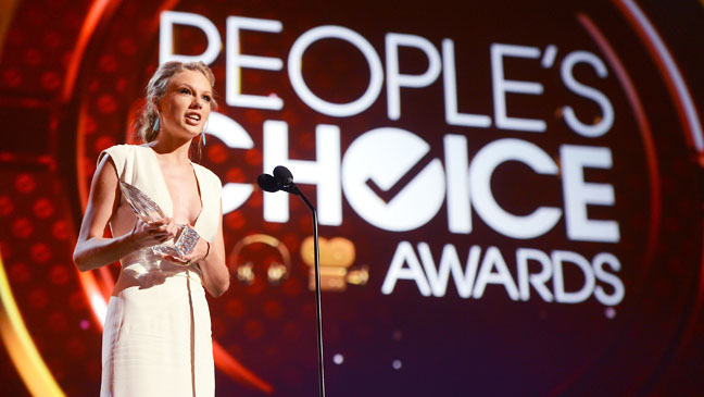 People's Choice Awards Taylor Swift Award - H 2013