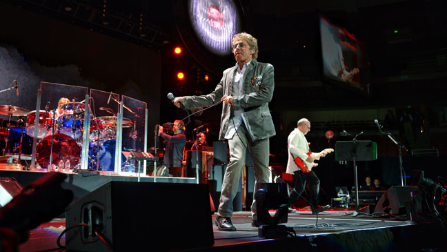The Who Performing - H 2013