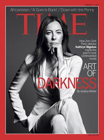 Kathryn Bigelow Time Cover - P 2013