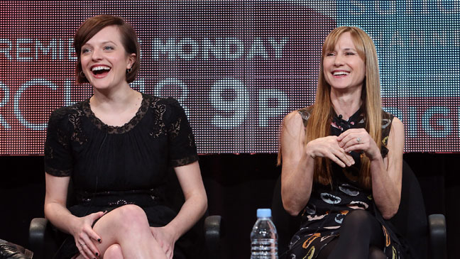 Elisabeth Moss Holly Hunter Top of the Lake Winter TCA 2013 - H