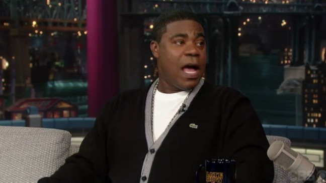 Tracy Morgan Late Show - H 2013